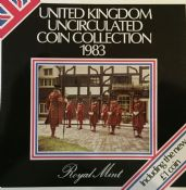 1983 Brilliant Uncirculated Coin Collection